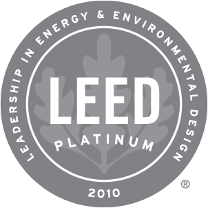 2010 Leed Platinum Award Winner