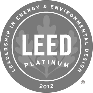 2012 Leed Platinum Award Winner