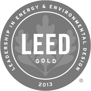 2013 Leed Gold Award Winner