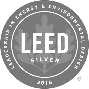 2015 Leed Silver Award Winner