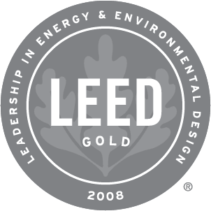 2008 Leed Gold Award Winner