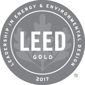 2017 Leed Gold Award Winner