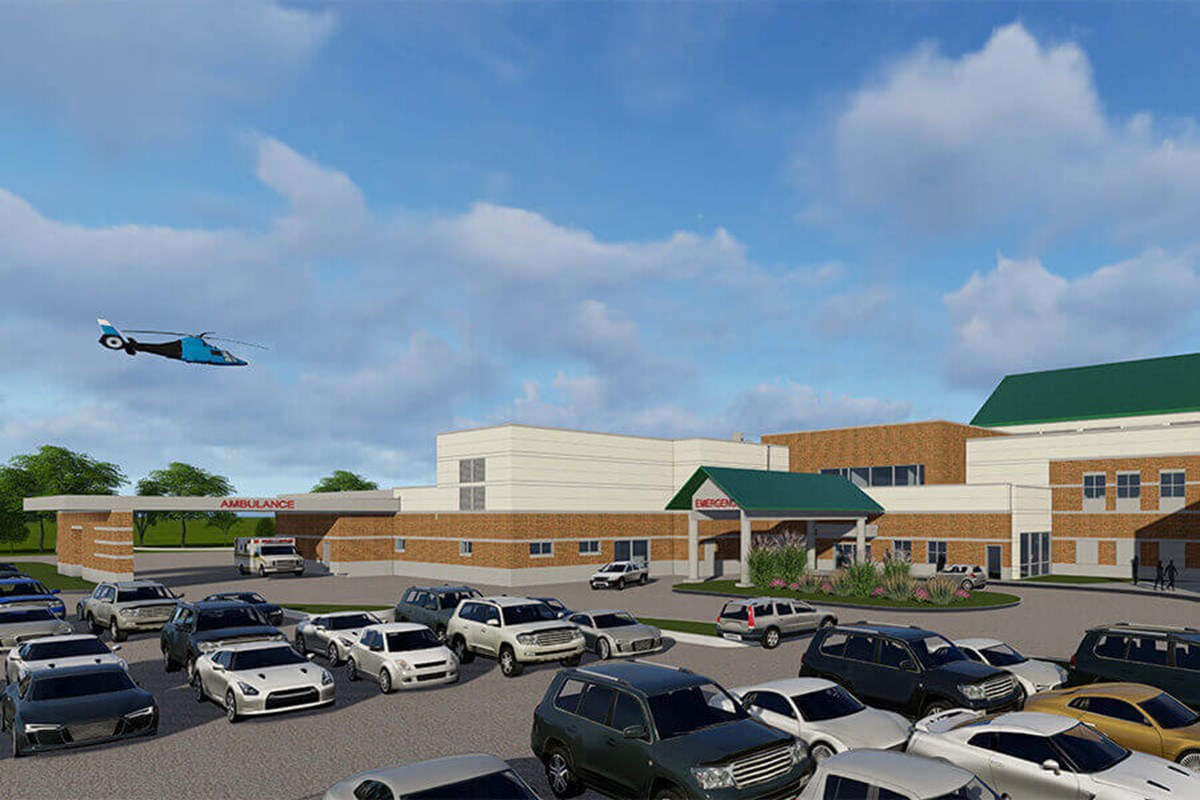 Upper Valley Medical Center Emergency Department Expansion
