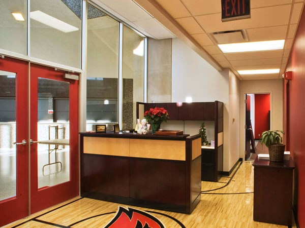 Miami University Millett Hall Coaches Office