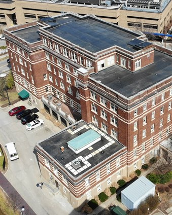 University of Cincinnati Logan Hall Roof Replacement