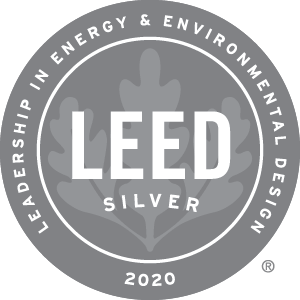 2020 Leed Silver Award Winner
